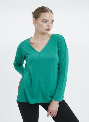Stamina Bluz Yeşil